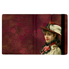 Vintage Edwardian Scrapbook Apple Ipad 3/4 Flip Case