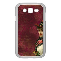 Vintage Edwardian Scrapbook Samsung Galaxy Grand Duos I9082 Case (white)