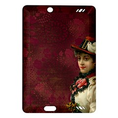 Vintage Edwardian Scrapbook Amazon Kindle Fire Hd (2013) Hardshell Case