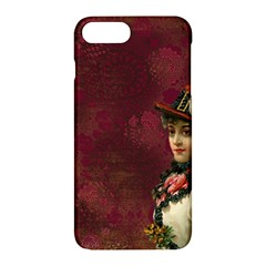 Vintage Edwardian Scrapbook Apple Iphone 7 Plus Hardshell Case by Nexatart