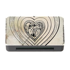 Heart Drawing Angel Vintage Memory Card Reader With Cf