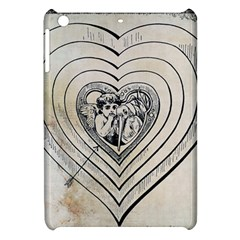 Heart Drawing Angel Vintage Apple Ipad Mini Hardshell Case