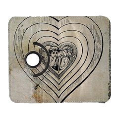 Heart Drawing Angel Vintage Galaxy S3 (flip/folio)