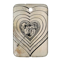 Heart Drawing Angel Vintage Samsung Galaxy Note 8 0 N5100 Hardshell Case