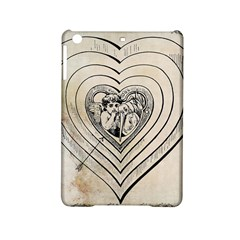 Heart Drawing Angel Vintage Ipad Mini 2 Hardshell Cases
