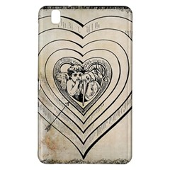 Heart Drawing Angel Vintage Samsung Galaxy Tab Pro 8 4 Hardshell Case