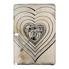Heart Drawing Angel Vintage Samsung Galaxy Tab Pro 12 2 Hardshell Case