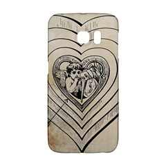 Heart Drawing Angel Vintage Galaxy S6 Edge