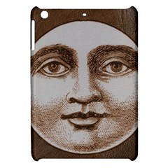 Moon Face Vintage Design Sepia Apple Ipad Mini Hardshell Case