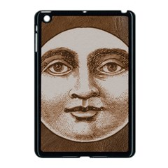 Moon Face Vintage Design Sepia Apple Ipad Mini Case (black)