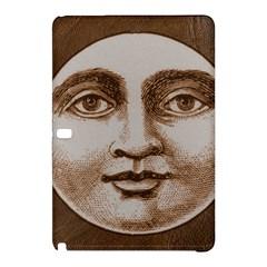 Moon Face Vintage Design Sepia Samsung Galaxy Tab Pro 10 1 Hardshell Case