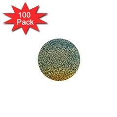 Background Cubism Mosaic Vintage 1  Mini Magnets (100 Pack)