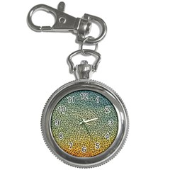 Background Cubism Mosaic Vintage Key Chain Watches