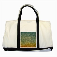 Background Cubism Mosaic Vintage Two Tone Tote Bag