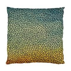 Background Cubism Mosaic Vintage Standard Cushion Case (one Side)