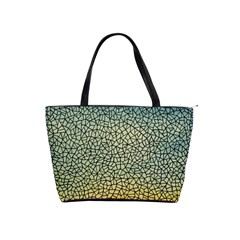 Background Cubism Mosaic Vintage Shoulder Handbags