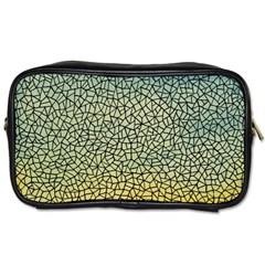 Background Cubism Mosaic Vintage Toiletries Bags