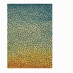 Background Cubism Mosaic Vintage Large Garden Flag (two Sides) by Nexatart