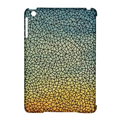 Background Cubism Mosaic Vintage Apple Ipad Mini Hardshell Case (compatible With Smart Cover)