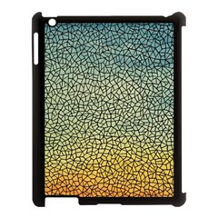 Background Cubism Mosaic Vintage Apple Ipad 3/4 Case (black)