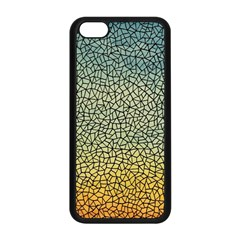 Background Cubism Mosaic Vintage Apple Iphone 5c Seamless Case (black)