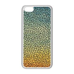 Background Cubism Mosaic Vintage Apple Iphone 5c Seamless Case (white)