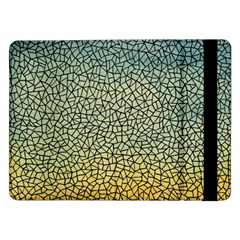 Background Cubism Mosaic Vintage Samsung Galaxy Tab Pro 12 2  Flip Case
