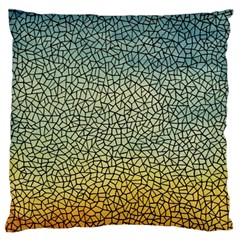 Background Cubism Mosaic Vintage Standard Flano Cushion Case (one Side)