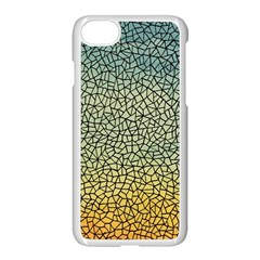 Background Cubism Mosaic Vintage Apple Iphone 8 Seamless Case (white)