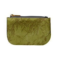 Vintage Map Background Paper Mini Coin Purses