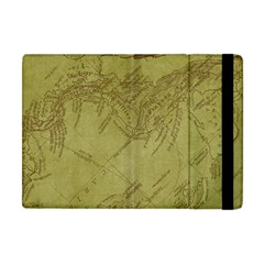 Vintage Map Background Paper Apple Ipad Mini Flip Case