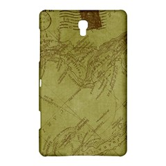 Vintage Map Background Paper Samsung Galaxy Tab S (8 4 ) Hardshell Case
