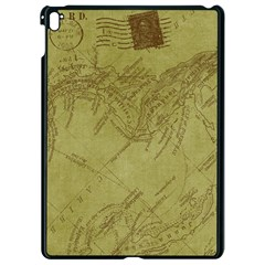 Vintage Map Background Paper Apple Ipad Pro 9 7   Black Seamless Case by Nexatart