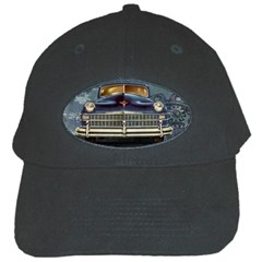 Vintage Car Automobile Black Cap by Nexatart
