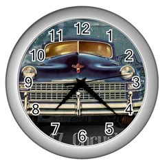 Vintage Car Automobile Wall Clocks (silver)