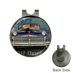 Vintage Car Automobile Hat Clips With Golf Markers