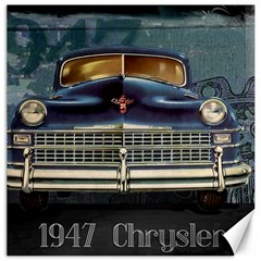 Vintage Car Automobile Canvas 16  X 16