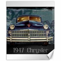 Vintage Car Automobile Canvas 16  X 20