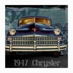 Vintage Car Automobile Medium Glasses Cloth (2 Side) by Nexatart