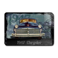 Vintage Car Automobile Small Doormat