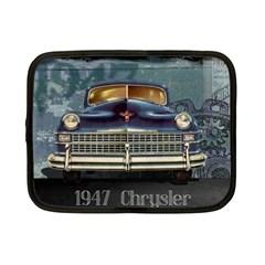 Vintage Car Automobile Netbook Case (small)