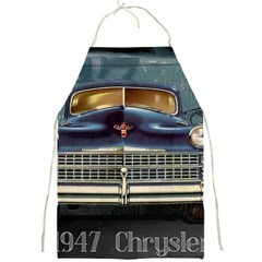 Vintage Car Automobile Full Print Aprons
