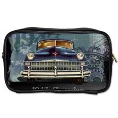 Vintage Car Automobile Toiletries Bags