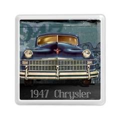 Vintage Car Automobile Memory Card Reader (square)