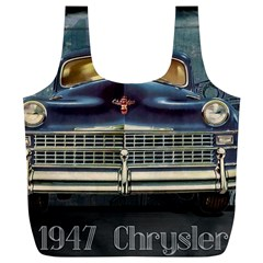Vintage Car Automobile Full Print Recycle Bags (l)