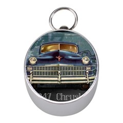 Vintage Car Automobile Mini Silver Compasses