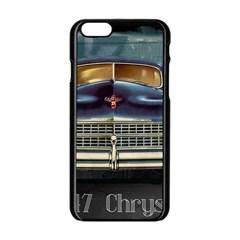 Vintage Car Automobile Apple Iphone 6/6s Black Enamel Case
