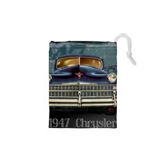 Vintage Car Automobile Drawstring Pouches (xs)