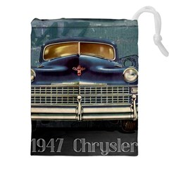 Vintage Car Automobile Drawstring Pouches (xxl)