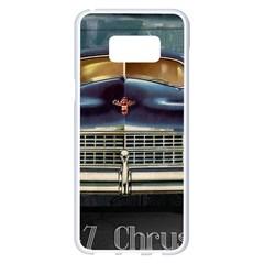 Vintage Car Automobile Samsung Galaxy S8 Plus White Seamless Case by Nexatart
